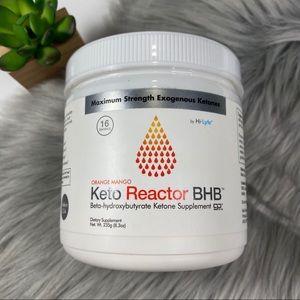 Keto Reactor BHB Orange Mango 8.3 oz.